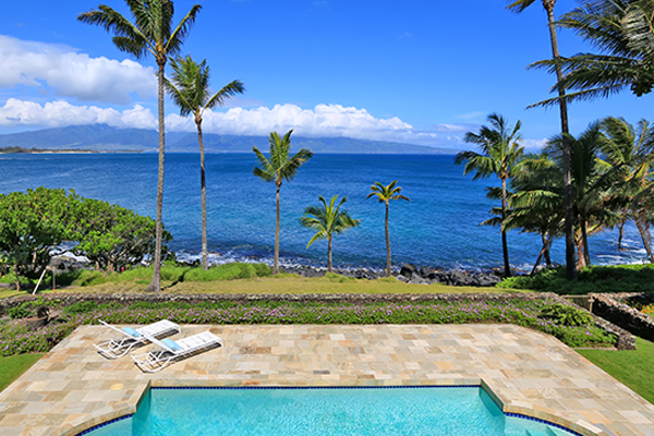 Pacific Ocean Views, Swimming Pool Area & Beach Access From 81 Aleiki Place, Kuau